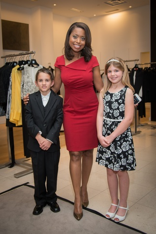 Melinda Spaulding, center, with Dana and Luca at the Leukemia & Lymphoma Society Man & Woman of the Year Kick-off April 2015