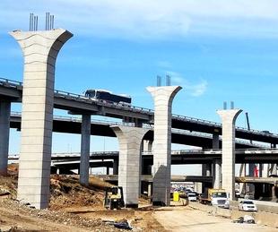 construction 288 bridges Houston traffic