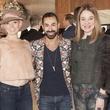 Vivian Wise, from left, Fady Armanious and Becca Cason Thrash at Neal Hamil's birthday party November 2014
