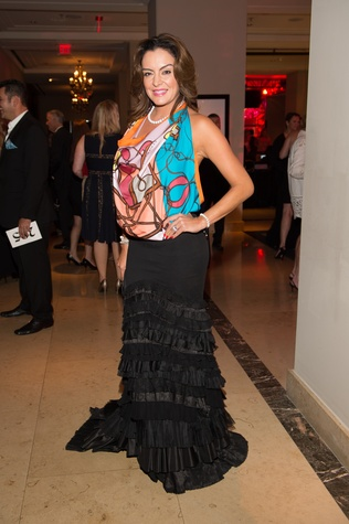 0209 Carmina Zamorano at the Pet Set Soiree September 2014