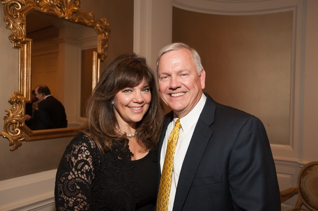 News, Shelby, Hospice Dinner, Oct. 2015, Terri Havens, John Havens