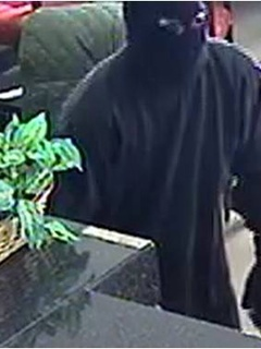 Bank robber in Plano