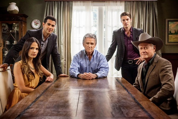 Cast of Dallas on TNT