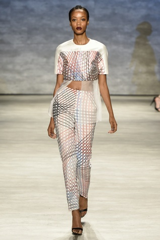 Bibhu Mohapatra spring 2015 collection look 6