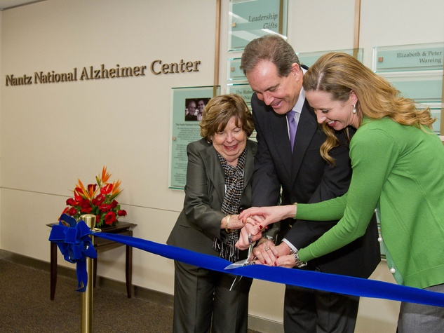 Nantz National Alzheimer Center Celebration Luncheon, January 2013, Doris T. Nantz, Jim Nantz, Courtney Nantz