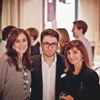 30 Heidi Aashani, from left, Amir Taghi and Haydeh Davoudi at the Pam & Gela party November 2014