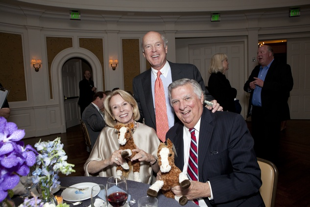 Marie and Bill Wise, from left, with John Madden at the SIRE Under the Stars event April 2014