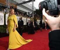 Jennifer Lopez at Golden Globes