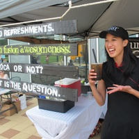 Ruthie cool treats June 2013 Urban Leaf bubble tea