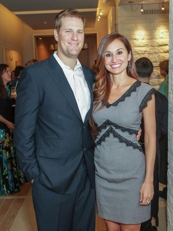 Katy Prairie Conservancy Gala 2015 Nicholas Roth and Daniela Simic