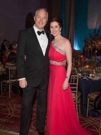 Bobby and Phoebe Tudor at the Houston Ballet Ball February 2014