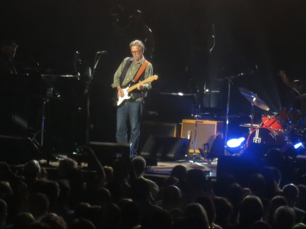 Eric Clapton, Toyota Center, March 2013