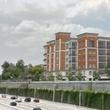 Topaz Villas luxury condos 4520 Yoakum Blvd. Montrose rendering by highway June 2014