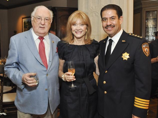 014, World Master Chefs dinner, September 2012, Gene van Dyke, Astrid van Dyke, Sheriff Adrian Garcia