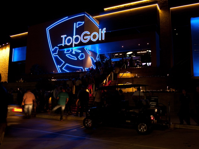 8, TopGolf Houston West, December 2012, The line to get into the VIP grand opening party at TopGolf Houston West on Dec. 3