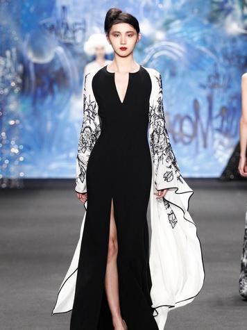 Clifford New York Fashion Week fall 2015 Naeem Khan March 2015 LOOK 33
