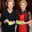 9 Patricia Reckling Taylor, left, and Annette Dewalch Strake at the Houston Food Bank dinner April 2014