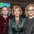 Paula Douglass, from left, Diane Ofner and Sally Tomlinson at the Cornerstone Dinner February 2015