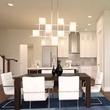 Dining room at Villas at Garrett Avenue in Dallas