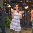 Genevieve Sullivan at Party in Pink Hotel ZaZa July 2013