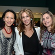 Y. Ping Sun, from left, Sima Ladjevardian and Rania Daniel at the Houston Cinema Arts Festival opening night party November 2013
