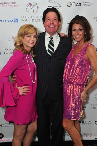 Kim Padgett, from left, John Evatz and Jessica Rossman at the Holly Rose Ribbon Foundation Day dinner September 2014