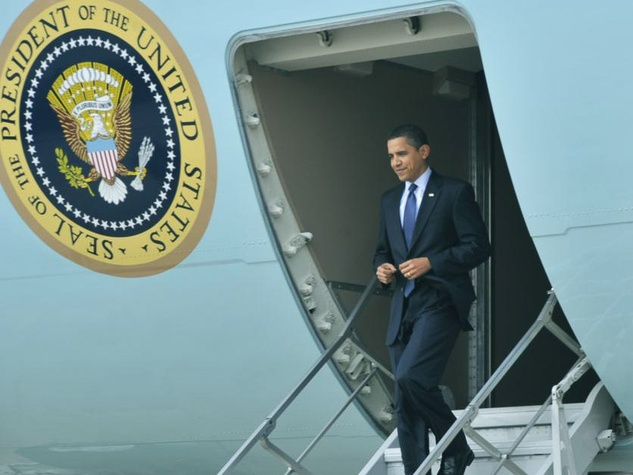 Obama, Air Force One, president