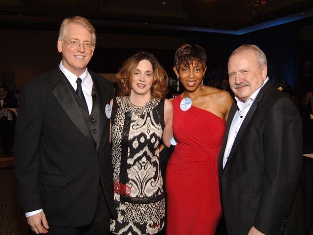 465 University of Houston Law Center Gala April 2013 John Coselli Jr, Tasha Willis, Sondra Tennessee, Raymond T. Nimmer