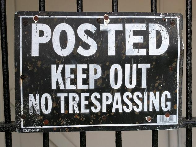 News_No Trespassing_sign