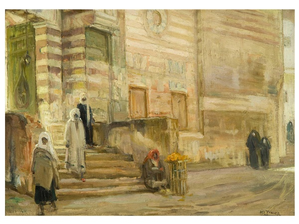 Museum of Fine Arts, Houston, Henry Ossawa Tanner, Modern Spirit, October 2012, A Mosque in Cairo