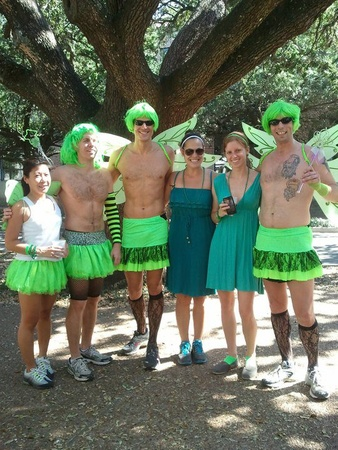 BON Green Dress Run