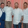 Dan Landsberg, Bradford Hodgkins, Cody Sharp, Lance Smith, Best Cellars Dinner