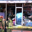 Mary Lee Donuts fire February 2014
