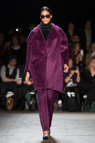 Christian Siriano fall collection look 3
