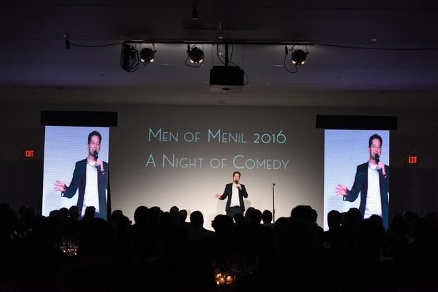 Headliner comedian Andrew Norelli at Men of Menil 2016
