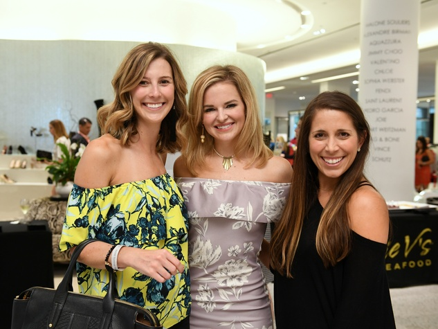 Houston, Women of Wardrobe Summer Soiree, August 2017, Marianna Corcoran, Kimberly Lombardino, Angie O'Flaherty