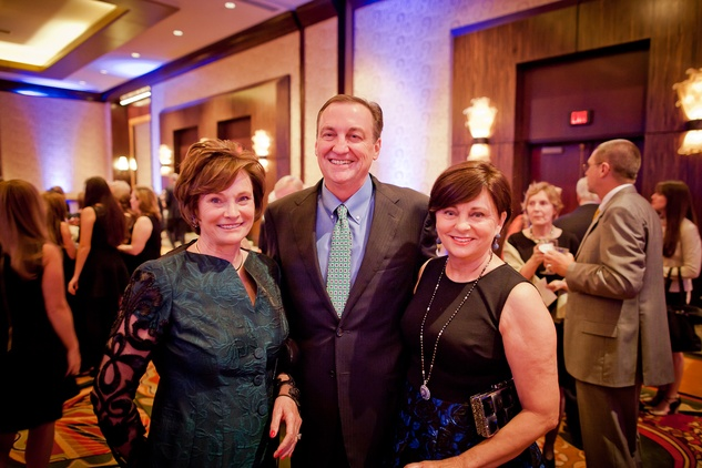 20 Bobbie Nau, from left, Ralph Burch and Beth Madison at the Planned Parenthood Gala October 2014