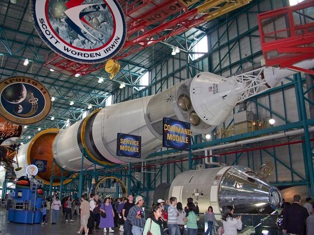 Saturn V, Kennedy Space Center, rocket
