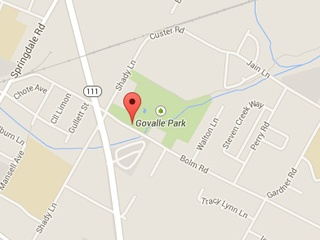 Govalle Park Google Maps 2014