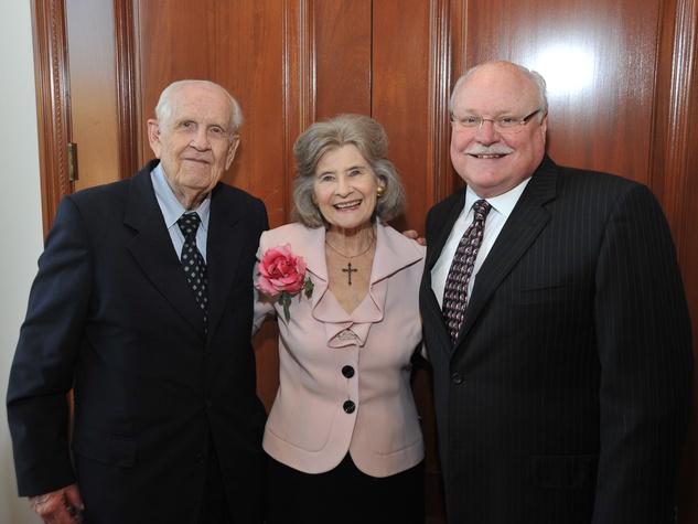 Houston Chamber Choir gala April 2013 Bill Rosene, Effie Rosene, David Ashley White