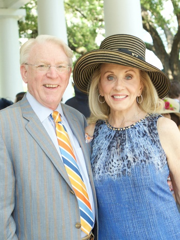Betty Crawford, John Crawford, LPJC Day at the Races