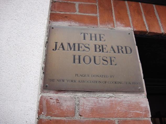 News_James Beard House_sign
