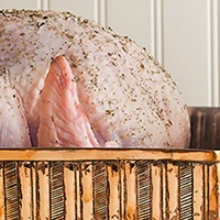 Dean & DeLuca Thanksgiving basket gourmet turkey essentials