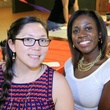 29 Lindsay Calvert, left, and Shaneka Smith at the Houston Area Women's Center Young Leaders Independence Day Bash July 2014