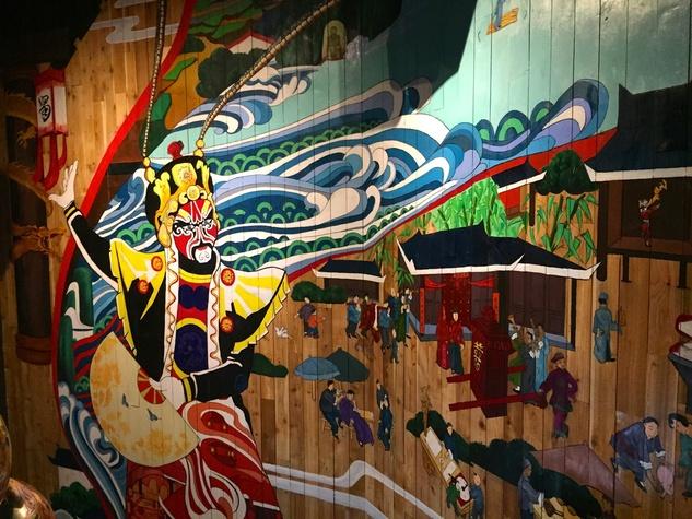 Mala Sichuan Montrose mural