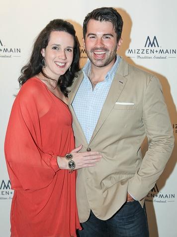 Pete and Elizabeth Hoffman at Mizzen+Main 2 year anniversary