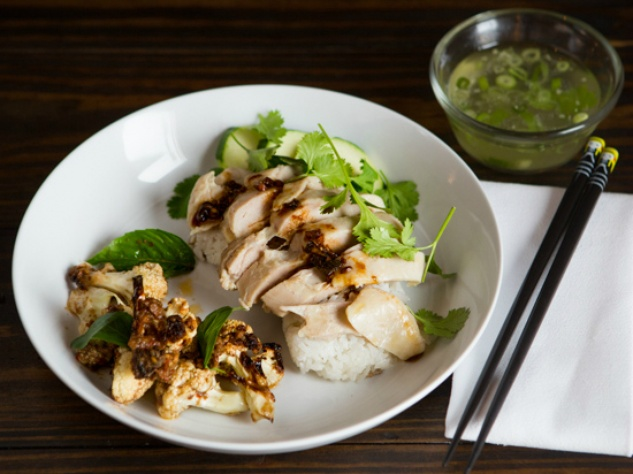 East Side King Khao Man Gai with Roasted Cauliflower Uber UberEATS August 2015
