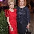 Margaret Alkek Williams, left, and Jan Duncan at the Women's Chamber of Commerce Hall of Fame Gala December 2014