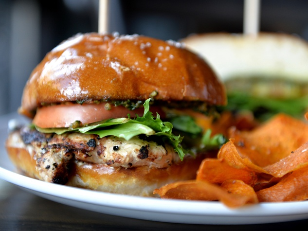 Finn Hall Dish Society sandwich