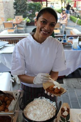 Curry Crawl, Shiva Patel, Queen Vic, June 2012